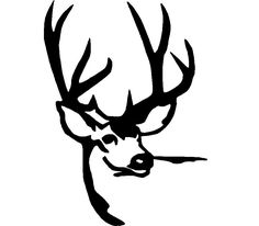 Deer Hunting Logos   Deer head