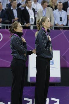 Misty and Kerri's Golden Night - Beach Volleyball. #Olympics