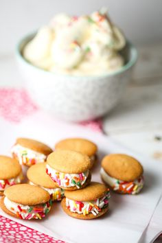 Cake Batter Frosting Recipe with Sprinkles from Our Best Bites Brownie Recipes, Cake Recipes, Snack Recipes, Dessert Recipes, Cookbook Recipes, Yummy Treats, Delicious Desserts, Sweet Treats, Cupcake Cakes