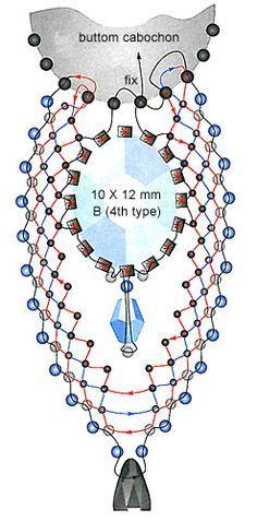 19 Seed Bead Necklace, Seed Bead Jewelry, Beaded Earrings, Seed Bead Patterns, Beading Patterns, Jewelry Making Tutorials, Beading Tutorials, Seed Bead Projects, Beaded Jewelry Designs