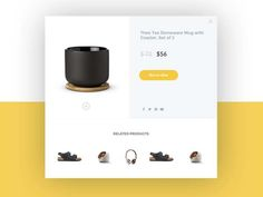50 Stunning Examples of Product Page for Ecommerce Web - http://smashfreakz.com/2016/08/product-page-ecommerce/