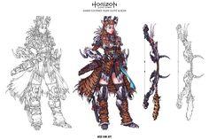 ArtStation - Horizon Zero Dawn, Woo Kim