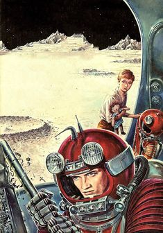 Ed Emshwiller - Have Space Suit-Will Travel, 1958.