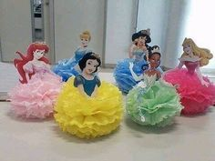 Simply Adorable Princess Birthday Party Ideas and Decorations Disney Princess Birthday Party, Princess Theme Party, Cinderella Party, Girl Birthday, 30th Birthday, Birthday Ideas, Disney Princess Centerpieces, Princess Party Decorations, Birthday Party Decorations