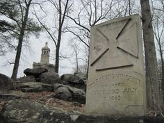 Little Round Top, Gettysburg National Military Park.  Photo by Becky Sterbank