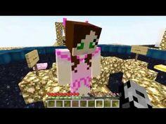 [Popularmmos - Minecraft ] ROLLER COASTER MINE LUCKY BLOCK RACE - Pat An...