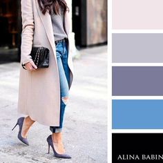 43 best ideas how to wear boyfriend jeans fall chic Colour Combinations Fashion, Color Combinations For Clothes, Fashion Colours, Colorful Fashion, Color Combos, Winter Typ, Fall Chic, Fall Jeans, Color Balance