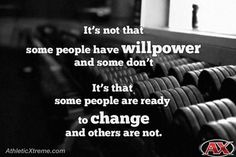 It's not just willpower. #fitness #inspiration