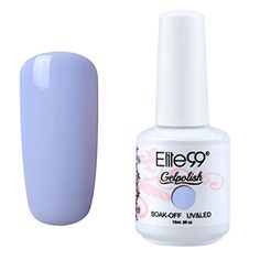 Qimisi Elite99 Gelpolish Soak-Off Gel Polish Nail Art New Bling Colours Manicure Lacquer 15ml Aliceblue