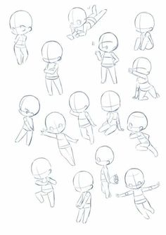 Imma chibi person <<< same.you might see a lot of chibi on this board Anime Drawings Sketches, Kawaii Drawings, Cute Drawings, Cartoon Drawings, Body Drawing, Drawing Base, Manga Drawing, Drawing Tips, Chibi Drawing
