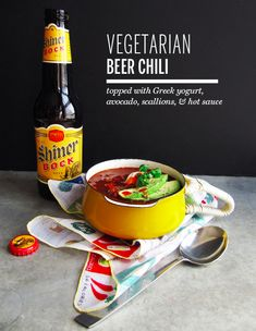Vegetarian Beer Chili