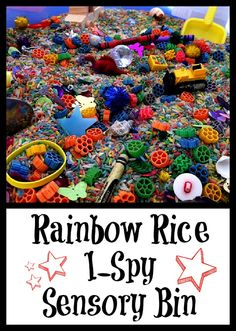 "Rainbow I Spy Sensory Tub ("",)"