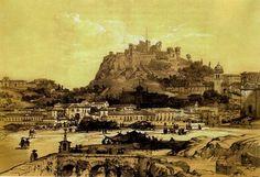 Leiria. Ilustração do final do século XIX.