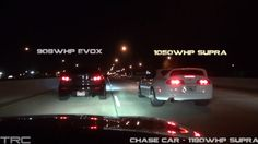 Two 1000+ HP Toyota Supra Rules on Texas Streets [Video]