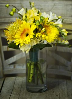 Yellow Summer Bridesmaid Bouquet    Pink+summer+spring+winter+fall+bouquet+bridal+bridesmaids+floral+arrangements+centerpieces+flower+flowers+bride+wedding+JBe+Photography+The+Frosted+Petticoat+15.jpg (563×780)