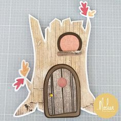 byMarleen: How to... Craft stencil Treehouse by Marleen Marianne Design, Stencil Designs, Treehouse, Mice, Banners, Dutch, Stencils, Kittens, Fox