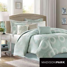 Madison Park Mason 7-piece Comforter Set -QUEEN