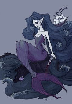 The Little Mermaid by IrenHorrors.deviantart.com on @deviantART
