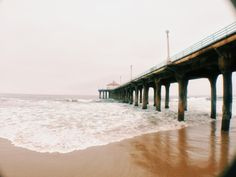 Manhattan Beach Pier.