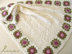 Flower Granny Square Patterns   ... granny squares inside, with the Summer Garden Granny Square pattern on