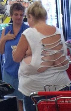 Ripped Back T-Shirt - Funny Pictures at Walmart more funny pics on facebook: https://www.facebook.com/yourfunnypics101