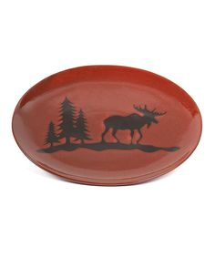 Another great find on #zulily! Moose Serving Platter by DEI #zulilyfinds