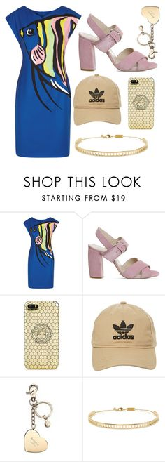 """""""PERI & PEARL SERPENTINE"""" by ariartist-1513 on Polyvore featuring Boutique Moschino, Office, Versace, adidas, Aspinal of London and Arme De L'Amour"""