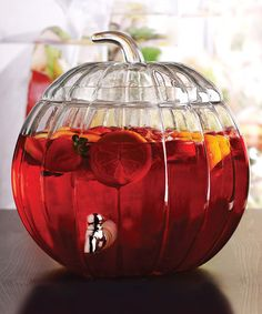 Glass Pumpkin 1.92-Gal. Dispenser #zulily #zulilyfinds