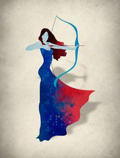 Sagittarius the Archeress