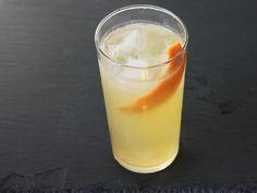 Granny's Navy Grog - Dark Rum, Light Rum, Grapefruit Juice, Lemon Juice, Simple Syrup, Hard Cider