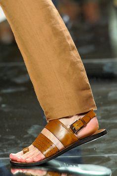 Ermenegildo Zegna spring 2013 sandals