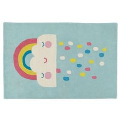 Rain and Shine Rug  | The Land of Nod