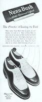 Nunn Bush Ridgewood Last Shoes 1947 Ad Picture