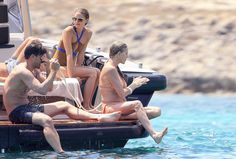 Olivia Palermo's on a Boat . . . in Just About the Chicest Swimsuit We've Ever Seen