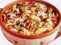 Ricetta Portata principale : Pasta fagioli marinara