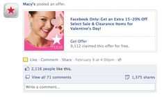 "Facebook Introduces ""Offers"" : Exclusive Viral Advertising Coupons For Brand Pages"