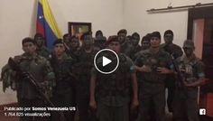 Revolta Militar Contra A Ditadura Comunista Na Venezuela: Uma revolta militar teve início na manhã desse domingo na Venezuela. Um grupo de militares se rebelou contra o regime de ditadura comunista de Nicolás Maduro e emitiu um vídeo, mostrado abaixo, declarando-se em estado de rebelião... #CriticaNacional #TrueNews