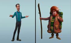 ArtStation - Vadim Bahryi - Собрал тут подборочку персонажей из нашей игры от разных художников Ronald Mcdonald, Pictures, Fictional Characters, Style, Fashion, Photos, Swag, Moda, Fashion Styles