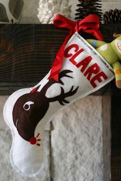 Last Minute Christmas Stocking - 29 Creative DIY Christmas Stockings