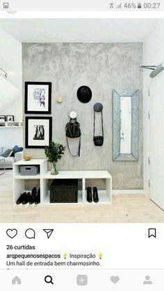 Apartment Door Entrance Entryway Ideas For 2019 Apartment Entrance, Apartment Living, Apartment Layout, Mid Century Light Fixtures, Flur Design, Hallway Designs, Entry Hall, Entryway Decor, Modern Entryway