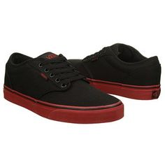 When you need a pair of skate shoes that help you do the latest tricks, check out the Atwood sneakers by Vans.Canvas upper in an athletic skate shoe styleLace-up front, metal eyeletsPadded collarTextile lining, padded insoleGrippy rubber outsole Vans Skate Shoes, Mens Vans Shoes, Girls Shoes, Vans Men, Ladies Shoes, Cute Shoes, Me Too Shoes, Women's Shoes, Fashion Shoes