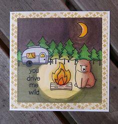 You drive me wild.   by cstrandroth.  Wonderful campfire glow.