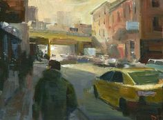 DARREN THOMPSON FINE ART: Sunny Side of the Street