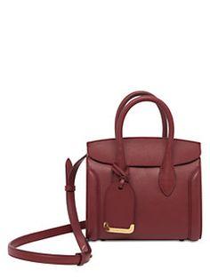 Alexander McQueen - Heroine Leather Shopper Bag