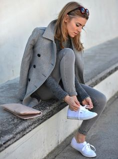 Perfect grey outfit