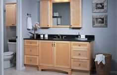 1000 images about medicine cabinets on pinterest - Unfinished shaker bathroom vanity ...