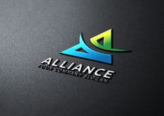 Ad: Alliance Marketing by Vectorwins Premium Shop on Logo Description: The logo is Easy to edit to your own company name.The logo is designed in vector for highly resizable and printing. Creative Sketches, Creative Logo, Business Brochure, Business Card Logo, Find Logo, Company Slogans, Company Logo, Minimal Logo, Paint Markers