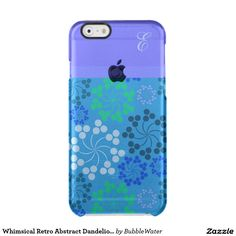 Whimsical Retro Abstract Dandelions iPhone 6 Case Uncommon Clearly™ Deflector iPhone 6 Case