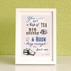 'Cup Of Tea' Print - art & pictures