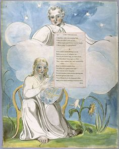 "Illustrations to Gray's ""Poems"", c. 1797-98 (Yale Center for British Art): electronic edition by William Blake"